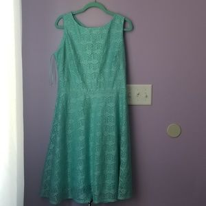 Aqua Danny and Nicole lace dress